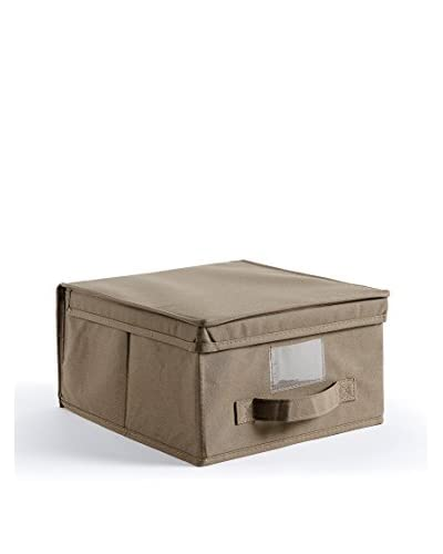 La Piacentina Contenitore Cottonbox Cm 28X30X15,5 tortora