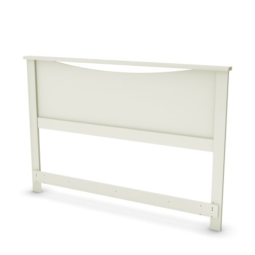 South Shore Grace Collection Full/Queen 54/60-Inch Headboard, Pure White