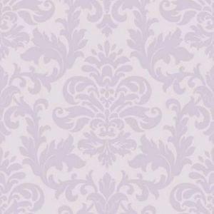 Rasch Glitter Damask Wallpaper - Lilac by New A-Brend