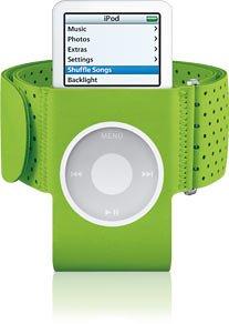 Apple iPod nano Armband - green