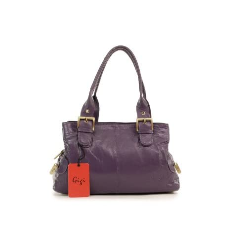 Gigi Leather Handbag - Othello 6165