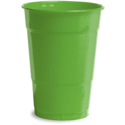 Kiwi Plastic 12oz Cups 20ct