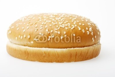 "Wallmonkeys Peel and Stick Wall Decals - Hamburger Bun - 60""W x 40""H Removable Graphic"