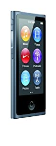Apple iPod nano 16GB  7th Generation - Slate  (Latest Model - Launched Sept 2012)