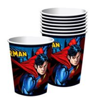 Superman 9 Oz. Cups 8 Count