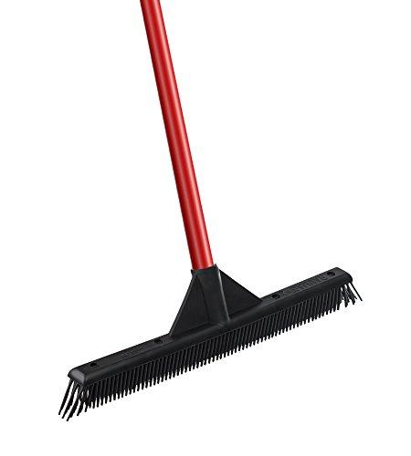 RAVMAG A-2 Slanted Side Soft Rubber Bristles Lightweight Broom (Lock Pick Wet compare prices)