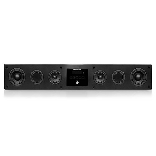 Pyle Psbvwf300B Smart Soundbar Digital Hd Speaker System With Built-In Android Computer, Wi-Fi And Bluetooth
