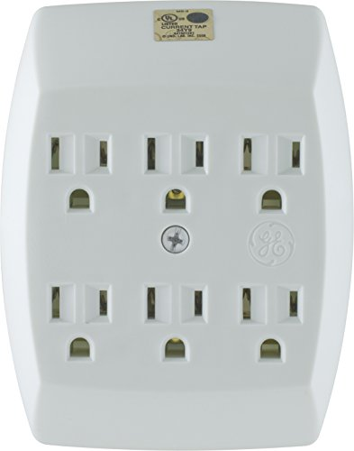 GE Grounded 6-Outlet Tap, 54947