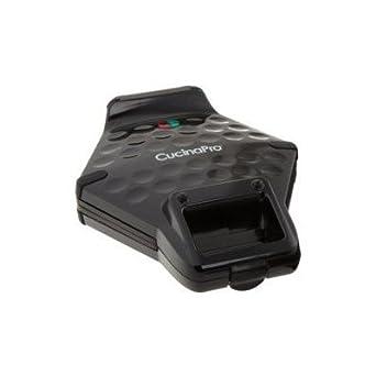 Amazon.com: Bundle 2 items: Cucina Pro 1446-b Bubble Waffle Maker