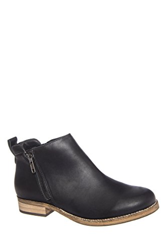 Floater Low Heel Ankle Bootie