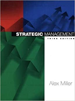 Strategic management text and cases 5 e gregory g dess