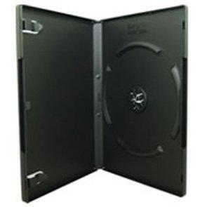 Custodia DVD 14mm singola nera, Confezione da 50