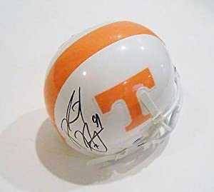 Robert Ayers Autographed Mini Helmet - Tennessee Volunteers w COA - Autographed... by Sports+Memorabilia
