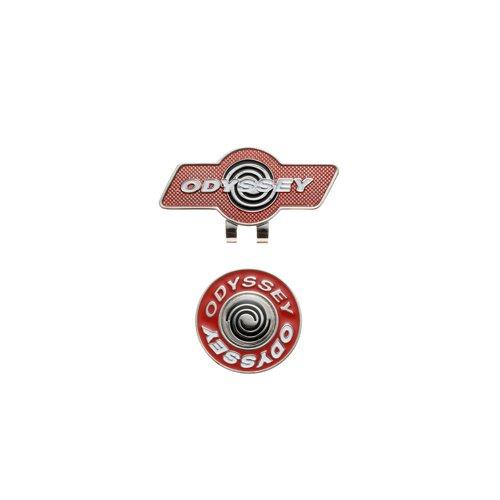 ODYSSEY(オデッセイ) 2014年 Logo Marker ロゴ クリップマーカー カラー レッド JM 5936220