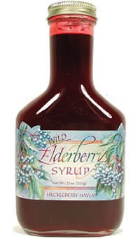 Wild Elderberry Syrup