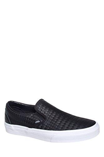 Men's Emboss Weave Slip-On Sneaker