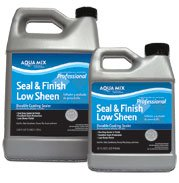 Aqua Mix Seal & Finish Low Sheen - Gallon