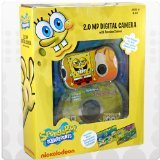 Nickelodeon SpongeBob Digital Camera with 1.4-Inch LCD Screen - Yellow (27062) - 1