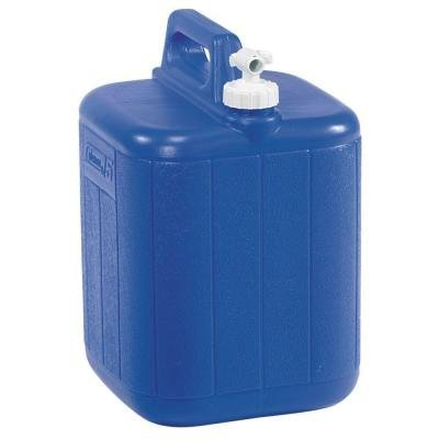 Coleman 5 Gal. Jug with Water Carrier, Blue (Coleman Water Carrier Spigot compare prices)