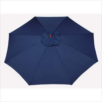 9' Market Umbrella Fabric: Hunter