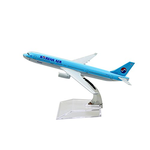 24-Hours Korean Air A330 Alloy Metal Model Aircraft Child Birthday Gift Plane Models Chiristmas Gift (Korean Air Model compare prices)