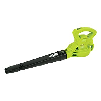 Sun Joe SBJ601E 10 Amp 215 Max MPH All-Purpose 2-Speed Electric Blower, Green
