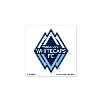 VANCOUVER WHITECAPS FC OFFICIAL MLS LOGO TATTOOS