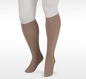 Juzo Dynamic Cotton Men's Closed Toe 20-30mmhg Compression Sock (Color: Brown, Tamaño: 5 (V) Short)