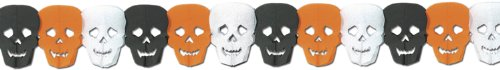 Skull Garland Party Accessory (1 Count) (1/Pkg)