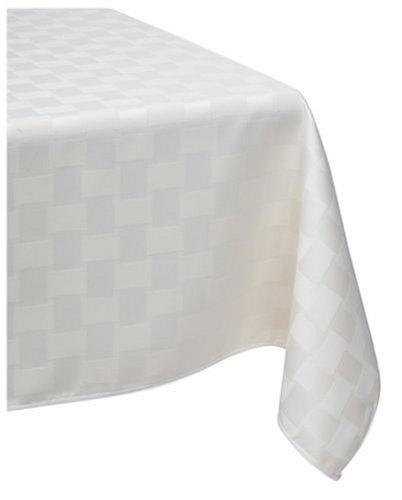 Reflections 60 by 120-Inch Oblong Tablecloth, Pearl - Buy Reflections 60 by 120-Inch Oblong Tablecloth, Pearl - Purchase Reflections 60 by 120-Inch Oblong Tablecloth, Pearl (Bardwill, Home & Garden, Categories, Kitchen & Dining, Kitchen & Table Linens, Tablecloths)
