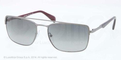 pradaPrada PR50QS Sunglasses-LAI/2D0 Gunmetal Demi Shiny (Gray Grad Lens)-58mm