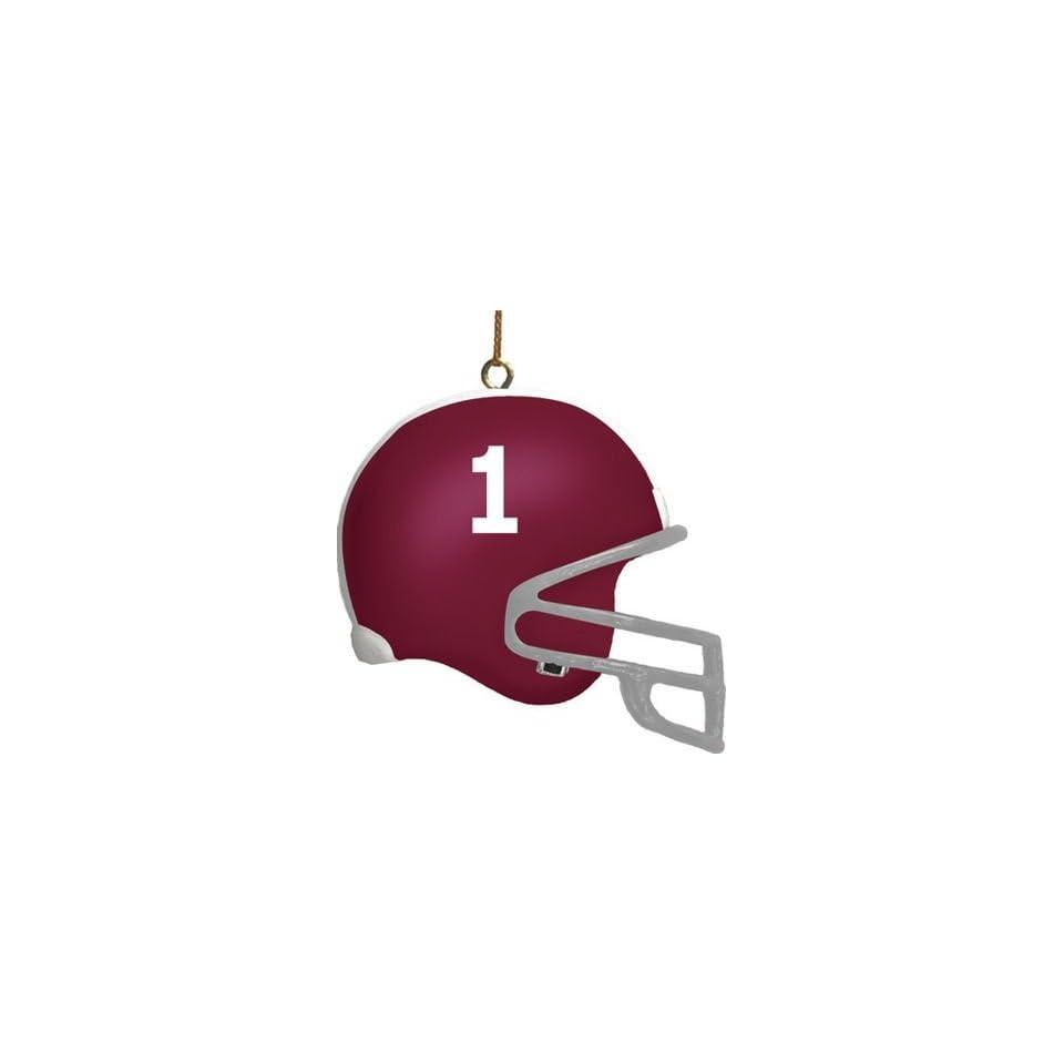 Alabama Crimson Tide 3 Helmet Ornament
