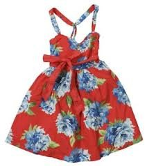 new-abercrombie-fitch-red-floral-dress-large-af-size-large