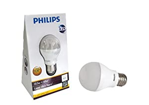 Philips 420240 10.5-watt (60-watt) A19 LED Household Bright White (3000K) Light Bulb at Sears.com