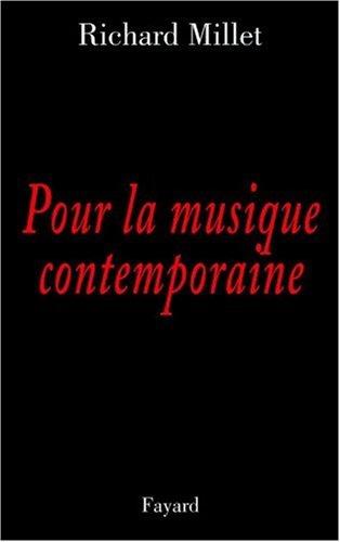 Pour la musique contemporaine : Chroniques discographiques