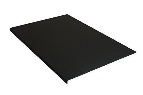 Schreibtischunterlage-880-x-590-mm-Leder-mit-Kantenschutz-gewinkelt-90-abgewinkelt-schwarz-fr-USM-HALLER-TISCH
