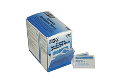 Pac-Kit 12-110 Alcohol Antiseptic Wipe (Box of 100) by Acme United