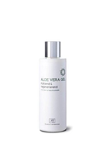 Classic Ayurveda Aloe Vera Gel, Pack de 1 pièce (1 x 200ml) - contrôlé Cosmétique naturel BDIH