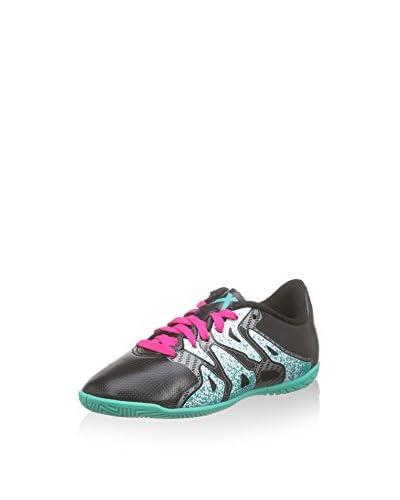 adidas Fußballschuh X 15.4 IN J schwarz/grün/weiß