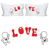 "BoldLoft ""My Love is Yours"" Lesbian Couple Pillowcases"
