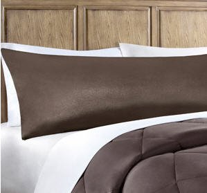 Elegant Chocolate Brown Body Pillow Case Body Pillow Cover