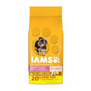 IAMS Dry Food Smart Small and Toy Breed Puppy Food, 6 lb
