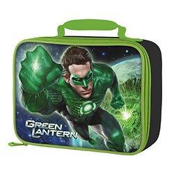 Green Lantern Soft Lunch Bag front-1068255