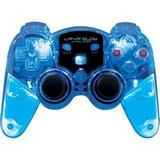 3188QAUVU%2BL Cheap  Dreamgear Lava Glow Wireless Controller For PS3   Blue