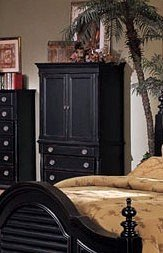 Amazon.com: Heritage Collection Traditional Style Black ...