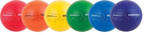 Champion Sports Rhino Skin Low Bounce Ball, 8-Inch - Set of 6, Multi Color (Champion Rhino Skin compare prices)