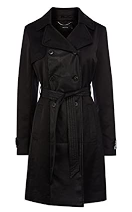 Soft unlined belted trench coat