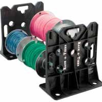 Rack-A-Tiers 2 Piece Multi-Purpose Wire Dispenser Stands