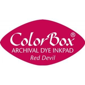 12 PACK ARCHIVAL DYE CATEYE RED DEVIL Papercraft, Scrapbooking (Source Book)