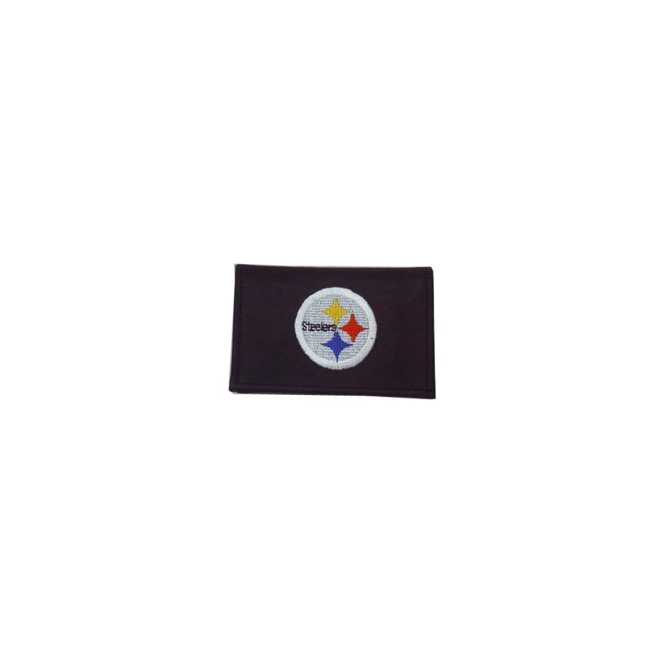NFL PITTSBURGH STEELERS LEATHER LOGO WALLET